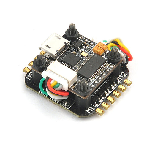 Super_S Flytower F4 2S Flight Controller OSD + 4in1 Blheli_S 6A ESC