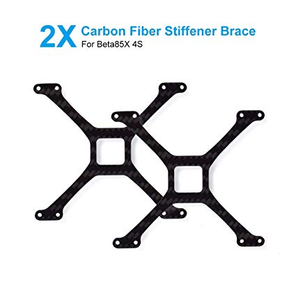 Stiffener Brace of Carbon Fiber for Beta85X Frame (2 PCS)