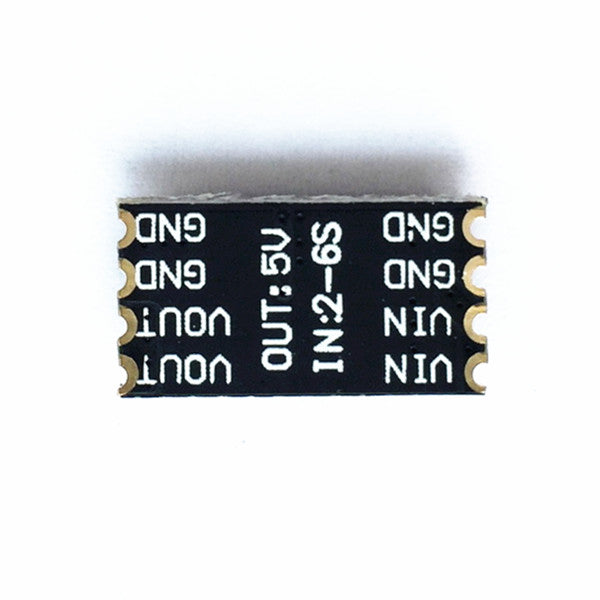 L-C Filter w/ 5V BEC Output *Super Micro* for Micro Multirotor (2-6S / 1A Current / 0.6g)