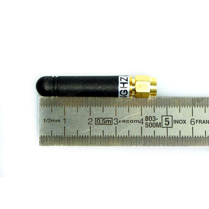 SHORT 2.4GHZ WHIP ANTENNA (2.5DBI)