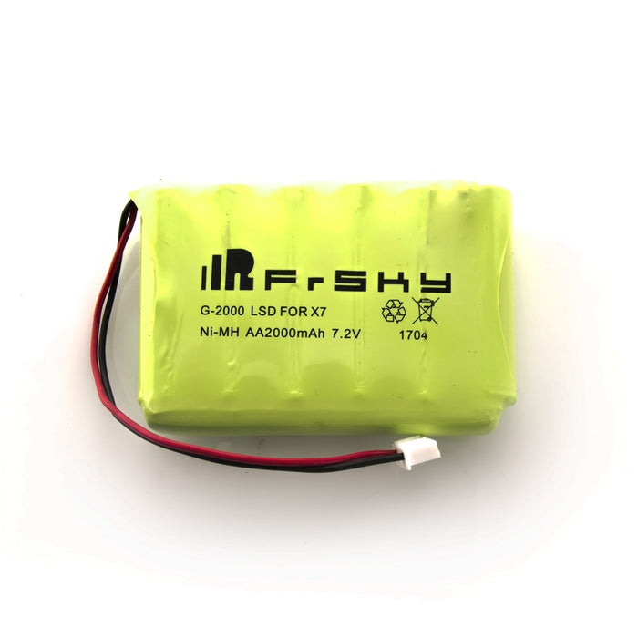 FrSky 2000mAh 7.2v NiMH Battery for Taranis QX7