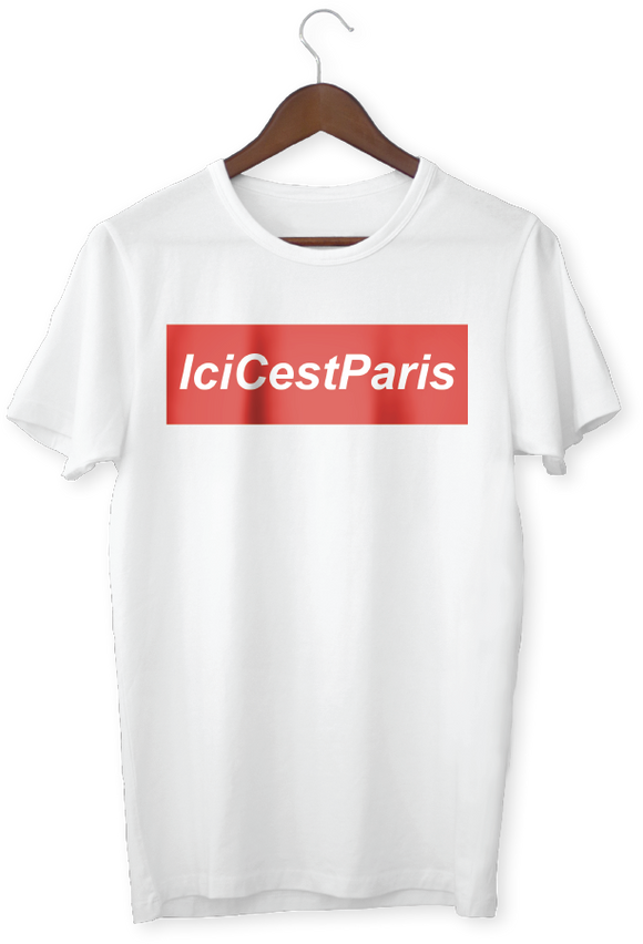 RED IciCestParis Blanc - Homme