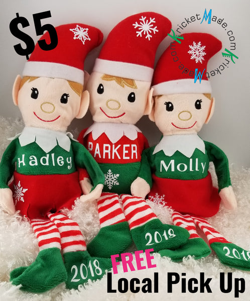 Christmas Elves Personalized for Your Loved One