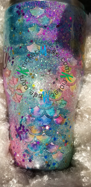Mermaid Tumbler Stainless Steel Insulated