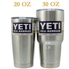 Yeti Add on option. Add this to your order ONLY if you want a Yeti Brand Cup for your Tumbler Order