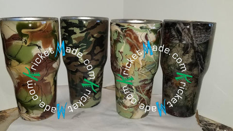 Camo Tumbler Stainless Steel