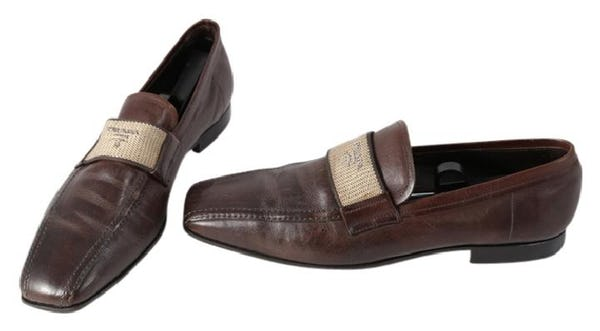 Prada Shoes (10 / Brown / Light Wear)