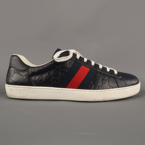 Gucci Sneakers (11 / Blue / Light Wear)