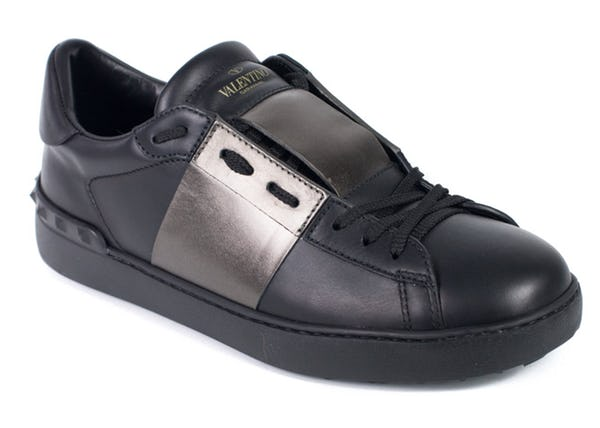 Valentino Sneakers (11 / Black / New)