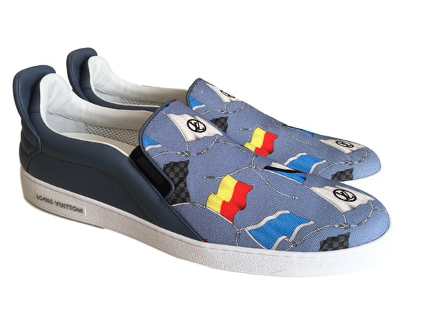 Louis Vuitton Sneakers (11.5 / Blue / New)