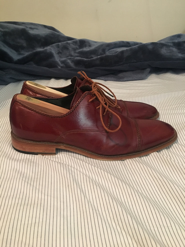 Stacy Adams Shoes (12.0 / Red / Well Worn)