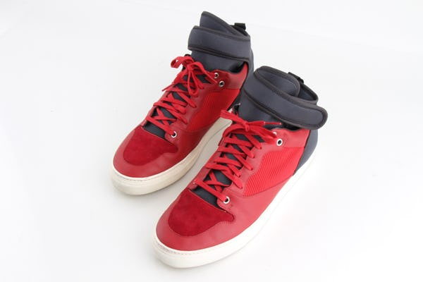 Balenciaga Sneakers (10 / Red / Light Wear)