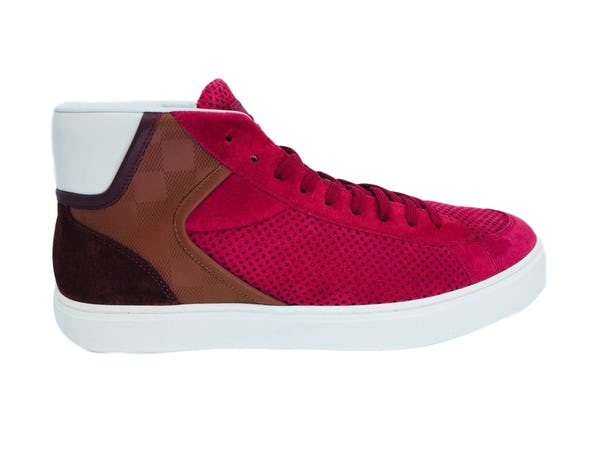Louis Vuitton Sneakers (10.5 / Red / New)