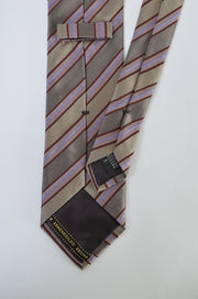 "Zegna Tie (3.25"" - 3.75"" / Brown / Light Wear)"