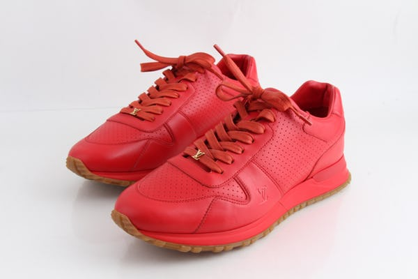 Louis Vuitton Sneakers (10 / Red / Light Wear)