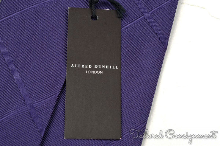 "Dunhill Tie (3.25"" - 3.75"" / Purple / New)"