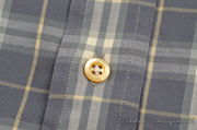 Burberry Casual Button Up (XXL / Grey / Light Wear)