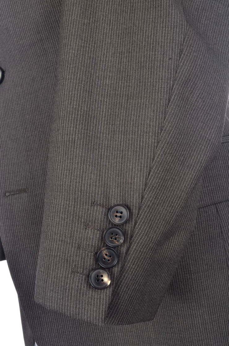 Hugo Boss Suit (38S / Brown / Light Wear)