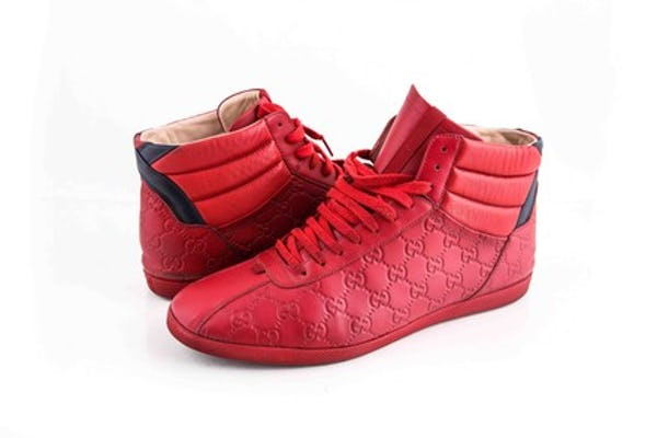 Gucci Sneakers (12 / Red / Light Wear)