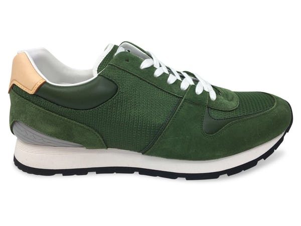 Louis Vuitton Sneakers (11 / Green / New)