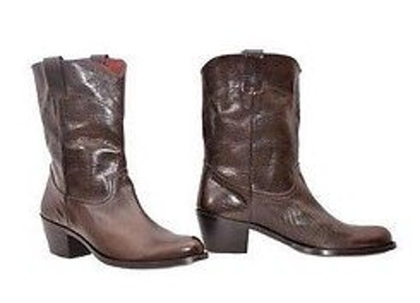 Roberto Cavalli Boots (10.5 / Brown / New)