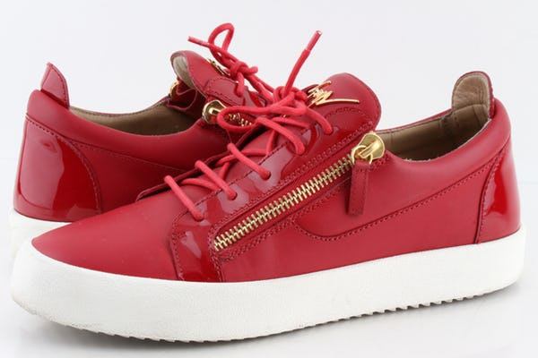 Giuseppe Zanotti Sneakers (11 / Red / Light Wear)