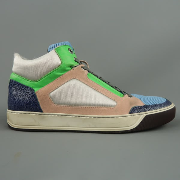 Lanvin Sneakers (11 / Multi / Light Wear)