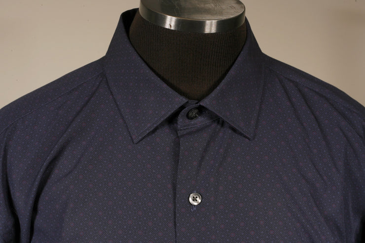Culturata Casual Button Up (XXL / Blue / New)