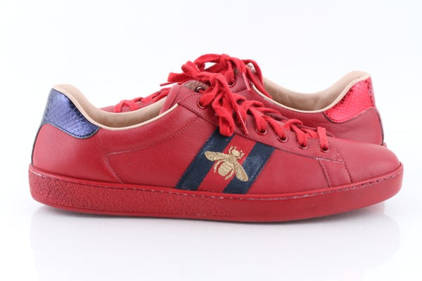 Gucci Sneakers (11 / Red / Light Wear)