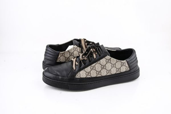 Gucci Sneakers (10 / Black / Light Wear)