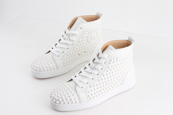 Christian Louboutin Sneakers (10 / White / New)
