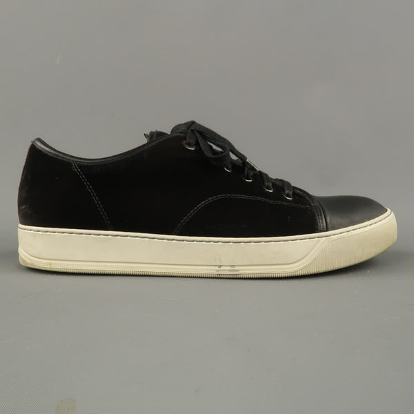Lanvin Sneakers (10 / Black / Light Wear)