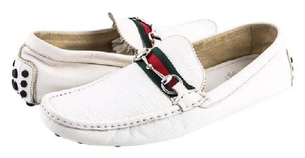 Gucci Shoes (10 / White / Light Wear)