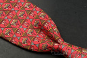 "Hermes Tie (3.25"" - 3.75"" / Multi / Light Wear)"