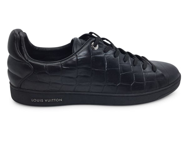 Louis Vuitton Sneakers (12 / Black / New)