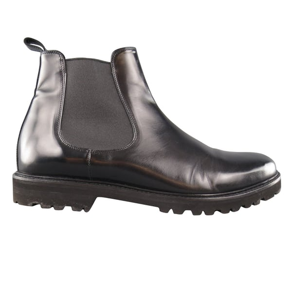 Theory Boots (12 / Black / Light Wear)
