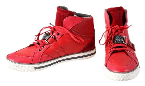 Versace Shoes (11.5 / Red / Light Wear)