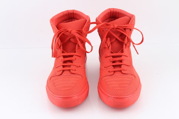 Balenciaga Sneakers (10 / Orange / Light Wear)