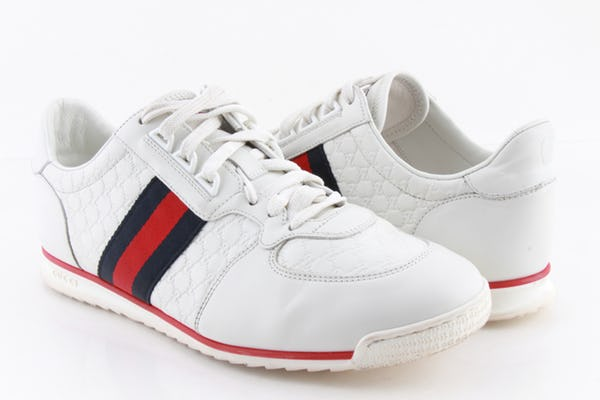 Gucci Sneakers (10.5 / White / Light Wear)