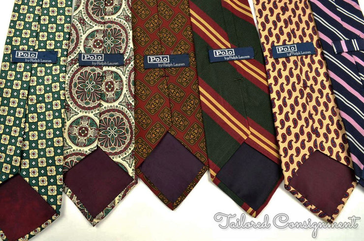 "Polo Ralph Lauren Tie (3.25"" - 3.75"" / Multi / Light Wear)"