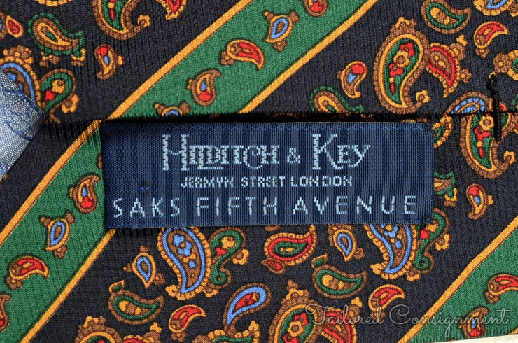 "Hilditch & Key Tie (3.25"" - 3.75"" / Multi / Light Wear)"