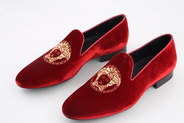 Versace Shoes (11 / Red / Light Wear)