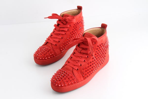 Christian Louboutin Sneakers (10 / Red / Light Wear)