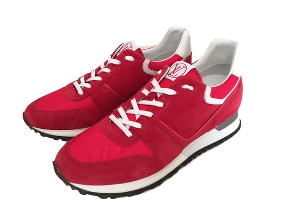 Louis Vuitton Sneakers (10 / Red / New)