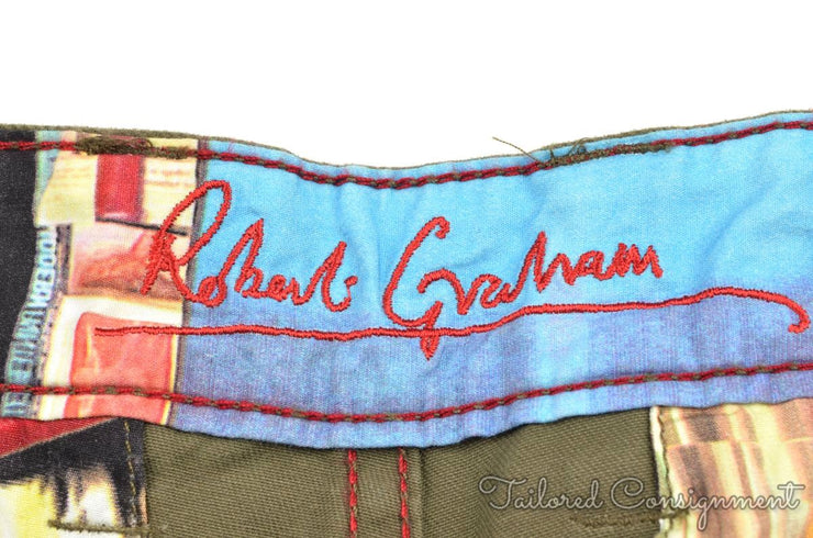 Robert Graham Pants (38 / Green / Light Wear)