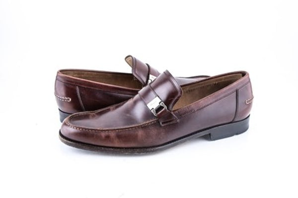 Salvatore Ferragamo Shoes (10 / Brown / Light Wear)