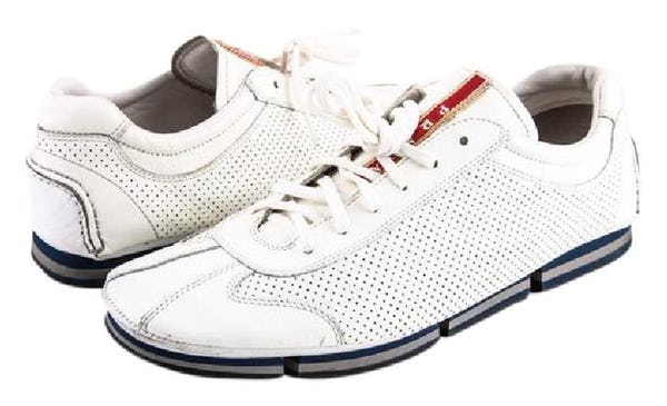 Prada Sneakers (10 / White / Light Wear)
