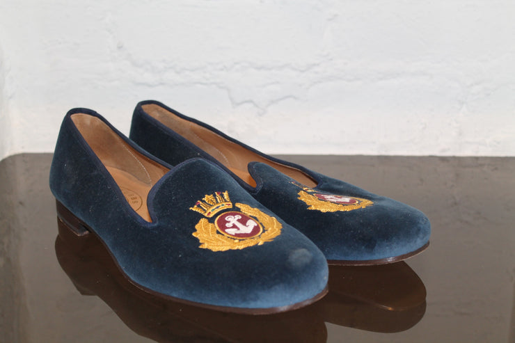 Charlotte Olympia Shoes (12.0 / Blue / Light Wear)