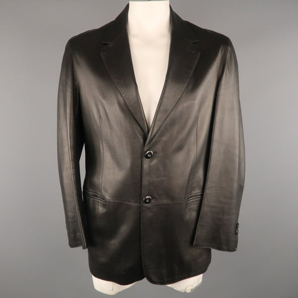 Giorgio Armani Jacket / Coat (XXL / Black / Light Wear)
