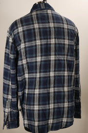 True Grit Casual Button Up (XXL / Blue / New)